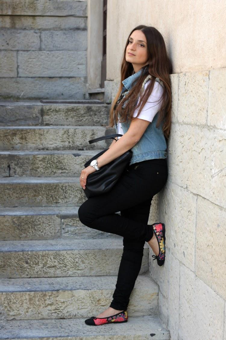 jeans-vest