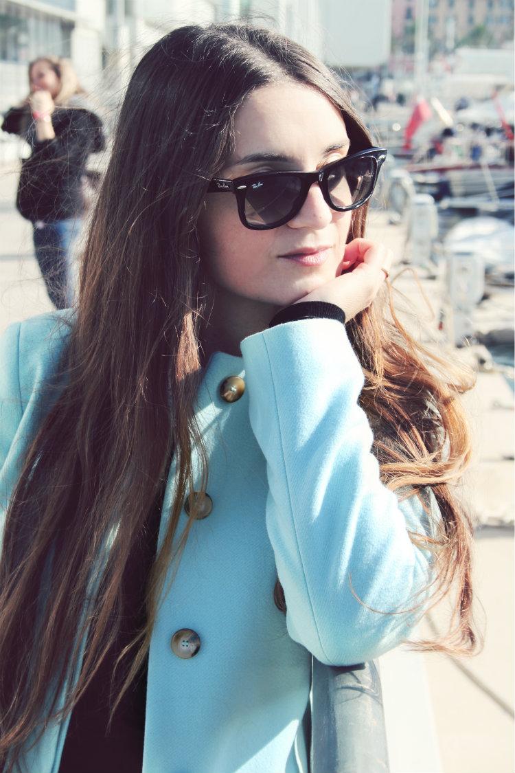 cappotto benetton azzurro 4