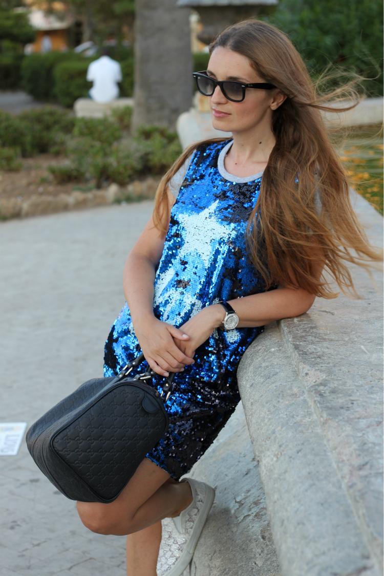 vestito pailettes 6