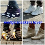 my (corrent) wedge sneakers collection
