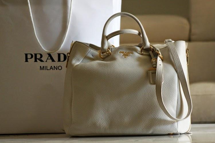 prada borsa bianca