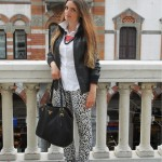 black and white animalier