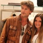 Morena Filocope boutique con Roberto Farnesi