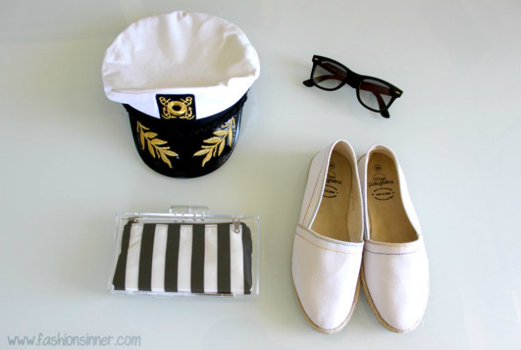 sunnies - Ray Ban / clutch - Zara / espadrillas - Miss Hamptons
