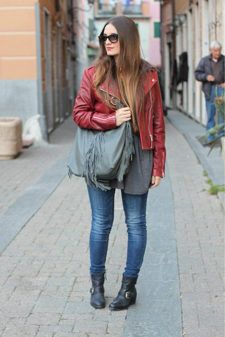 red biker jacket 11