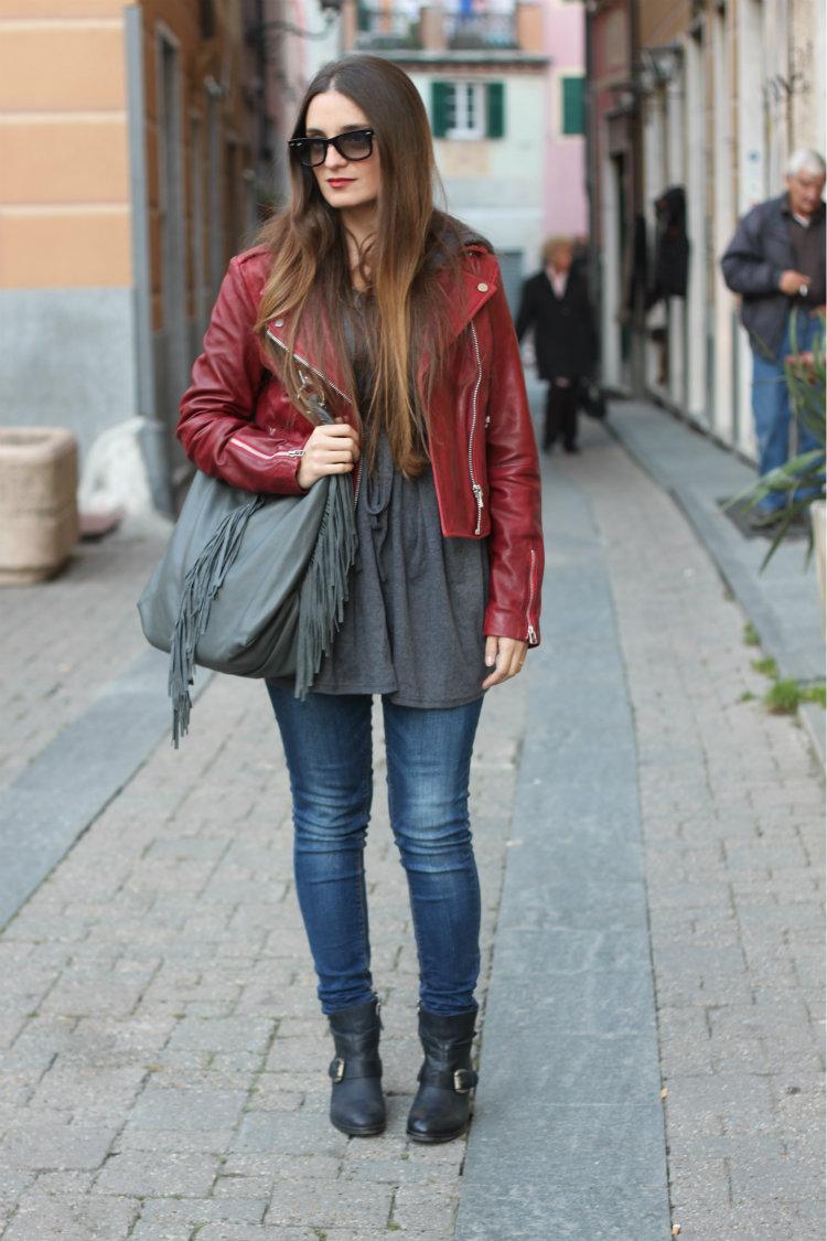 red biker jacket 2