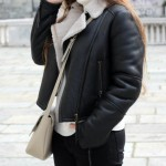 aviator jacket look