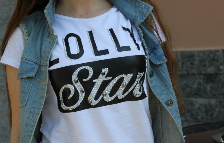maglietta lolly star