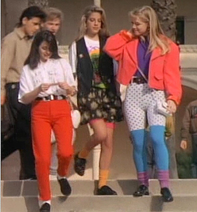 beverly hills 90210 outfit